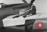 Image of Ground Crewmen of 332nd Fighter Group maintain P-51s Termoli Italy, 1944, second 57 stock footage video 65675062615