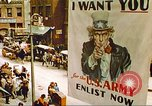 Image of enlistment of men for army New York United States USA, 1943, second 34 stock footage video 65675062622