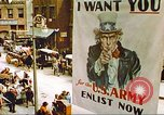 Image of enlistment of men for army New York United States USA, 1943, second 35 stock footage video 65675062622