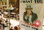 Image of enlistment of men for army New York United States USA, 1943, second 36 stock footage video 65675062622