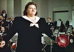 Image of Kate Smith singing God Bless America United States USA, 1943, second 49 stock footage video 65675062626