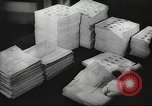 Image of FBI fingerprint library Washington DC USA, 1936, second 5 stock footage video 65675062630
