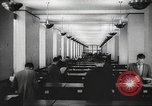 Image of FBI fingerprint library Washington DC USA, 1936, second 25 stock footage video 65675062630