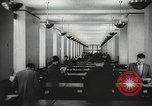 Image of FBI fingerprint library Washington DC USA, 1936, second 26 stock footage video 65675062630