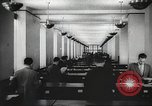 Image of FBI fingerprint library Washington DC USA, 1936, second 27 stock footage video 65675062630