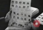 Image of FBI fingerprint library Washington DC USA, 1936, second 39 stock footage video 65675062630