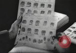 Image of FBI fingerprint library Washington DC USA, 1936, second 41 stock footage video 65675062630