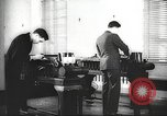 Image of FBI fingerprint library Washington DC USA, 1936, second 46 stock footage video 65675062630