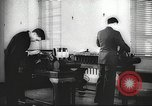 Image of FBI fingerprint library Washington DC USA, 1936, second 48 stock footage video 65675062630