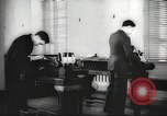 Image of FBI fingerprint library Washington DC USA, 1936, second 49 stock footage video 65675062630