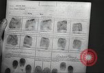 Image of FBI fingerprint library Washington DC USA, 1936, second 52 stock footage video 65675062630