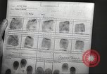 Image of FBI fingerprint library Washington DC USA, 1936, second 53 stock footage video 65675062630