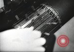 Image of FBI fingerprint library Washington DC USA, 1936, second 55 stock footage video 65675062630