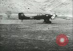 Image of German airplanes Southern Yugoslavia, 1941, second 15 stock footage video 65675062660