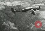 Image of German airplanes Southern Yugoslavia, 1941, second 25 stock footage video 65675062660