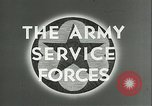 Image of The American Army Service forces European Theater, 1943, second 3 stock footage video 65675062661