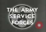 Image of The American Army Service forces European Theater, 1943, second 4 stock footage video 65675062661