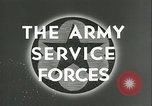 Image of The American Army Service forces European Theater, 1943, second 5 stock footage video 65675062661