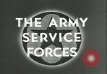 Image of The American Army Service forces European Theater, 1943, second 6 stock footage video 65675062661