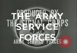 Image of The American Army Service forces European Theater, 1943, second 8 stock footage video 65675062661