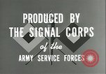 Image of The American Army Service forces European Theater, 1943, second 9 stock footage video 65675062661