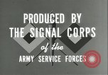 Image of The American Army Service forces European Theater, 1943, second 13 stock footage video 65675062661