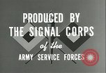 Image of The American Army Service forces European Theater, 1943, second 14 stock footage video 65675062661