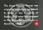 Image of The American Army Service forces European Theater, 1943, second 22 stock footage video 65675062661