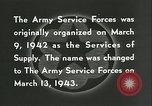 Image of The American Army Service forces European Theater, 1943, second 24 stock footage video 65675062661