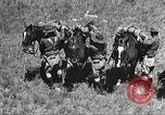 Image of Cavalry Rifle Platoon Kansas United States USA, 1933, second 15 stock footage video 65675062676