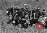 Image of Cavalry Rifle Platoon Kansas United States USA, 1933, second 18 stock footage video 65675062676