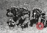Image of Cavalry Rifle Platoon Kansas United States USA, 1933, second 20 stock footage video 65675062676