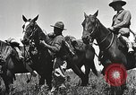 Image of Cavalry Rifle Platoon Kansas United States USA, 1933, second 24 stock footage video 65675062676