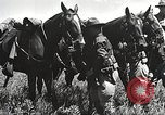 Image of Cavalry Rifle Platoon Kansas United States USA, 1933, second 28 stock footage video 65675062676