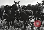 Image of Cavalry Rifle Platoon Kansas United States USA, 1933, second 30 stock footage video 65675062676