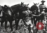 Image of Cavalry Rifle Platoon Kansas United States USA, 1933, second 36 stock footage video 65675062676