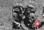 Image of Cavalry Rifle Platoon Kansas United States USA, 1933, second 40 stock footage video 65675062676