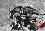 Image of Cavalry Rifle Platoon Kansas United States USA, 1933, second 43 stock footage video 65675062676
