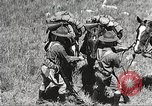 Image of Cavalry Rifle Platoon Kansas United States USA, 1933, second 48 stock footage video 65675062676