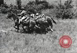 Image of Cavalry Rifle Platoon Kansas United States USA, 1933, second 54 stock footage video 65675062676