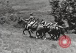 Image of Cavalry Rifle Platoon Kansas United States USA, 1933, second 56 stock footage video 65675062676