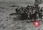 Image of Cavalry Rifle Platoon Kansas United States USA, 1933, second 57 stock footage video 65675062676