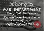 Image of United States soldiers Camp Johnston Florida USA, 1943, second 24 stock footage video 65675062684