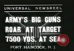 Image of United States soldiers Fort Hancock New Jersey USA, 1937, second 1 stock footage video 65675062687