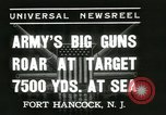 Image of United States soldiers Fort Hancock New Jersey USA, 1937, second 2 stock footage video 65675062687