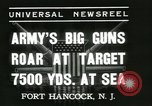 Image of United States soldiers Fort Hancock New Jersey USA, 1937, second 6 stock footage video 65675062687
