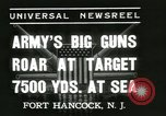 Image of United States soldiers Fort Hancock New Jersey USA, 1937, second 7 stock footage video 65675062687