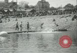 Image of log-rolling championship Port Townsend Washington USA, 1937, second 13 stock footage video 65675062689