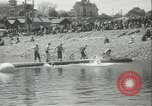 Image of log-rolling championship Port Townsend Washington USA, 1937, second 14 stock footage video 65675062689