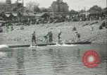 Image of log-rolling championship Port Townsend Washington USA, 1937, second 18 stock footage video 65675062689
